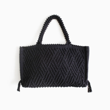 [期間限定] CAPRICCIOLI Medium Zigzag - BLACK